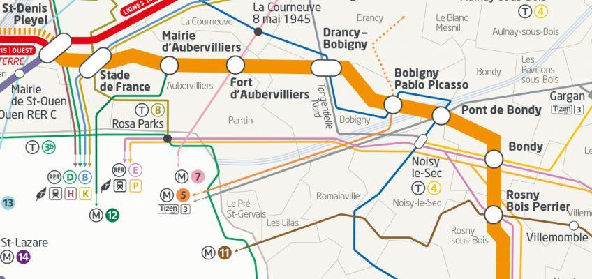 Plan Ligne 15 Est