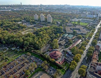 Projet d'urbanisme, le fort prend forme