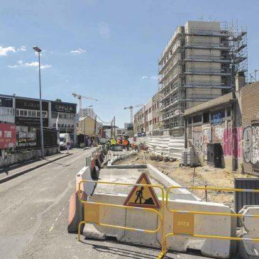 Réaménagement de la rue du Pilier